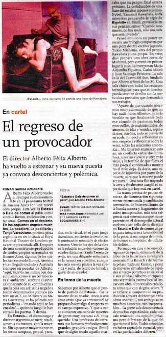 Revista Ñ, Clarín - 02 de Octubre de 2010