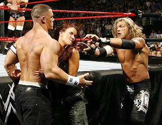WWE Cena vs Lita - YouTube