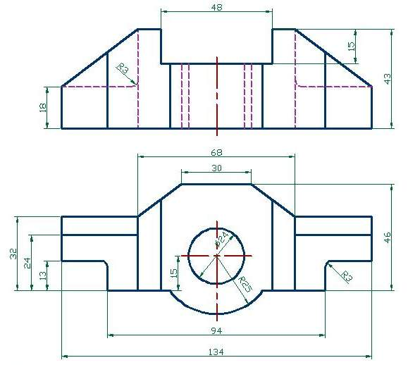 Autocad mechanical drawings for practice autocad mechanical drawings for practice photo26 malvernweather Choice Image