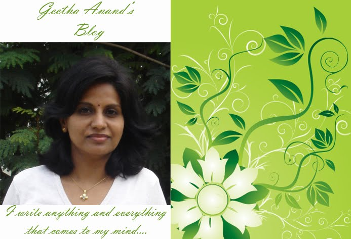 Geetha Anand's Blogs