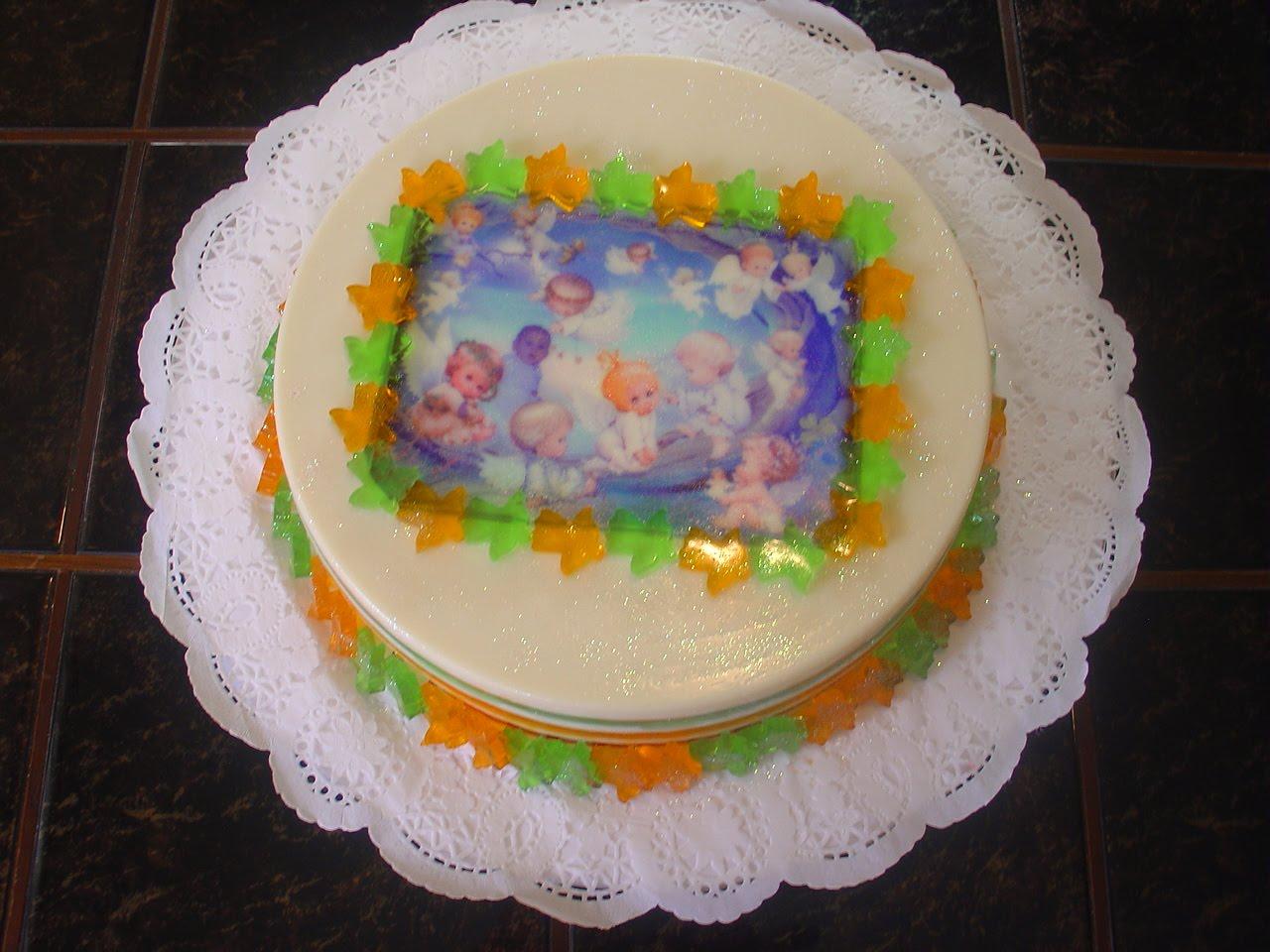 Pasteles De Bautizo Para Ninas