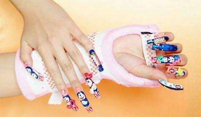 Modern Nail Art Design