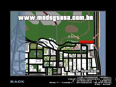 Favela BETA para GTA San Andreas
