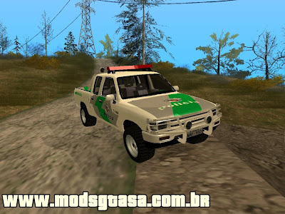 Toyota Hilux PMSP Ambiental para GTA San Andreas