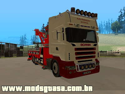 Scania Towing Services para GTA San Andreas