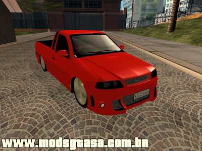 VW Saveiro G3 Tuning para GTA San Andreas