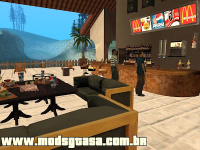 Beach Club (Lagoa Fisher) para GTA San Andreas
