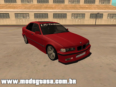 BMW E36 M3 Sedan para GTA San Andreas