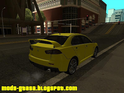 Mitsubishi Lancer Evolution X MR para GTA San Andreas