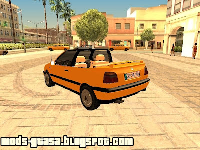 VW Golf MK3 Cabrio para GTA San Andreas
