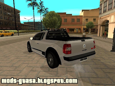 VW Saveiro Trooper 2009 para GTA San Andreas