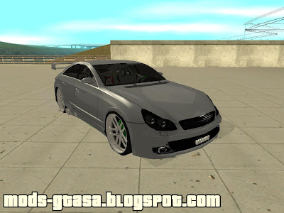 Mercedes Benz CL 500 para GTA San Andreas