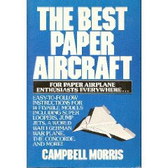 livrorecort Livro para construir Aviões de papel basicos e Avançados