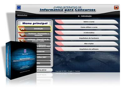 informatica para concursos Curso Interativo de Informática Para Concursos