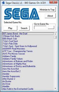 sega clas Sega Clássicos   843 Jogos – PC
