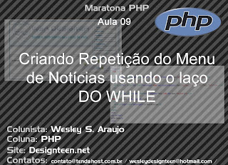 Maratona PHP - Usando Comando Do While  - Parte 09