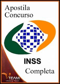 capaxe Apostila Concurso INSS 2010 Completa