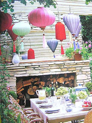 Cutepinkstuff and more august 2008 for Outdoor dinner party decorating ideas