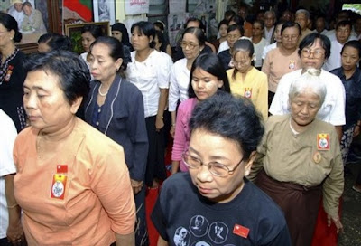 >NLD HQ on Martyr's Day