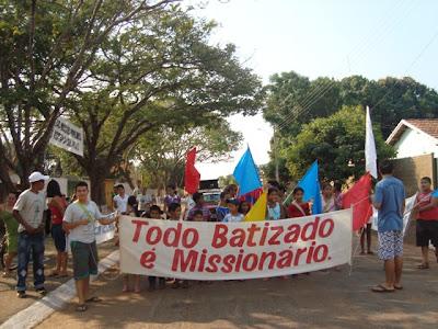 Semana Missionária em Figueirópolis/TO