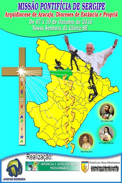 Intercâmbio Missionário em Sergipe - 07 a 10/10/2010