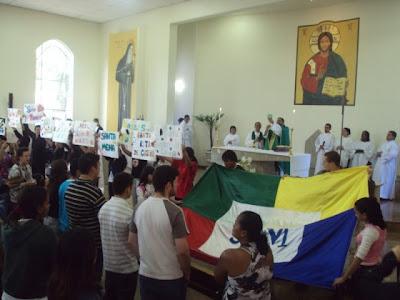 Mais comemorações do Dia Mundial das Missões e DNJ em Guarulhos/SP