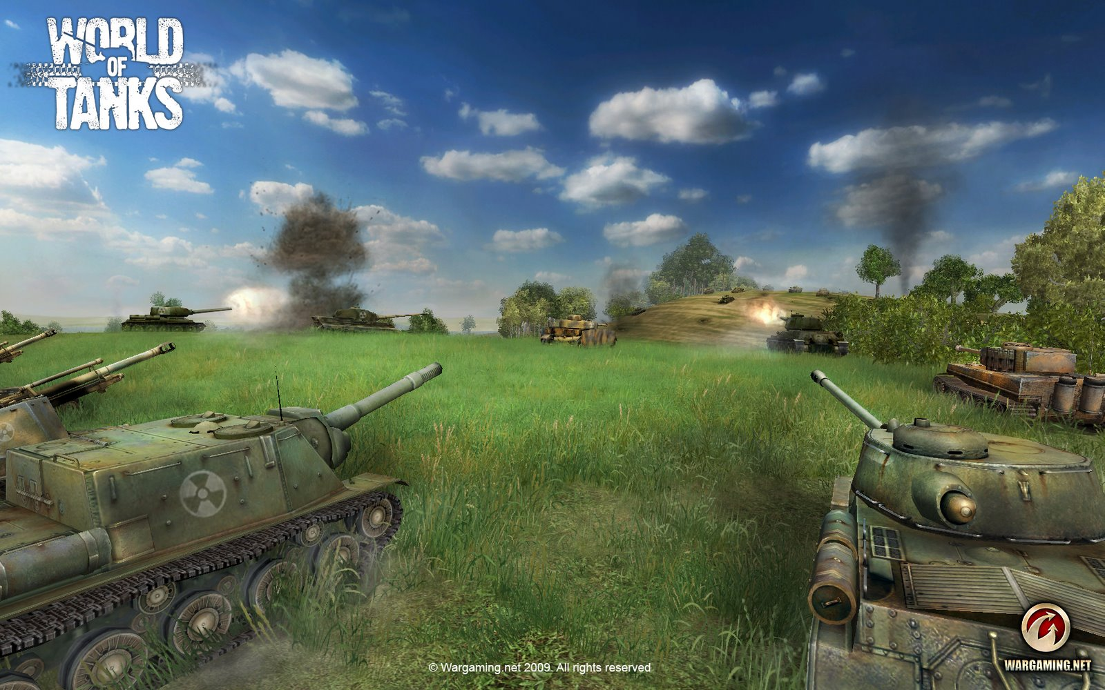 На официальном сайте world of tanks wot было