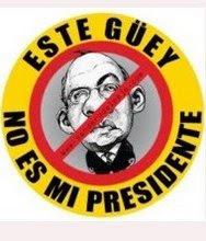 YO SOY REPRESENTANTE DEL GOBIERNO LEGITIMO DE MEXICO