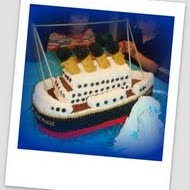 Titanic Cake 3D