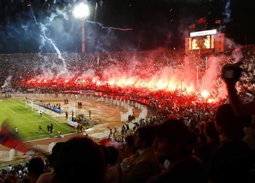 Salida Final Copa Sudamericana