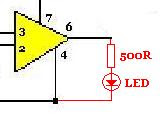 LM741 Low Voltage Indicator