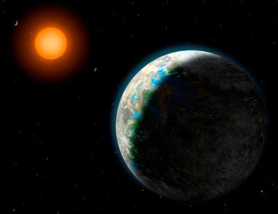 señal inteligente de Gliese 581g