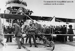 primer aterrizaje en un portaaviones