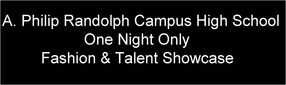 One Night Only:Fashion & Talent Showcase