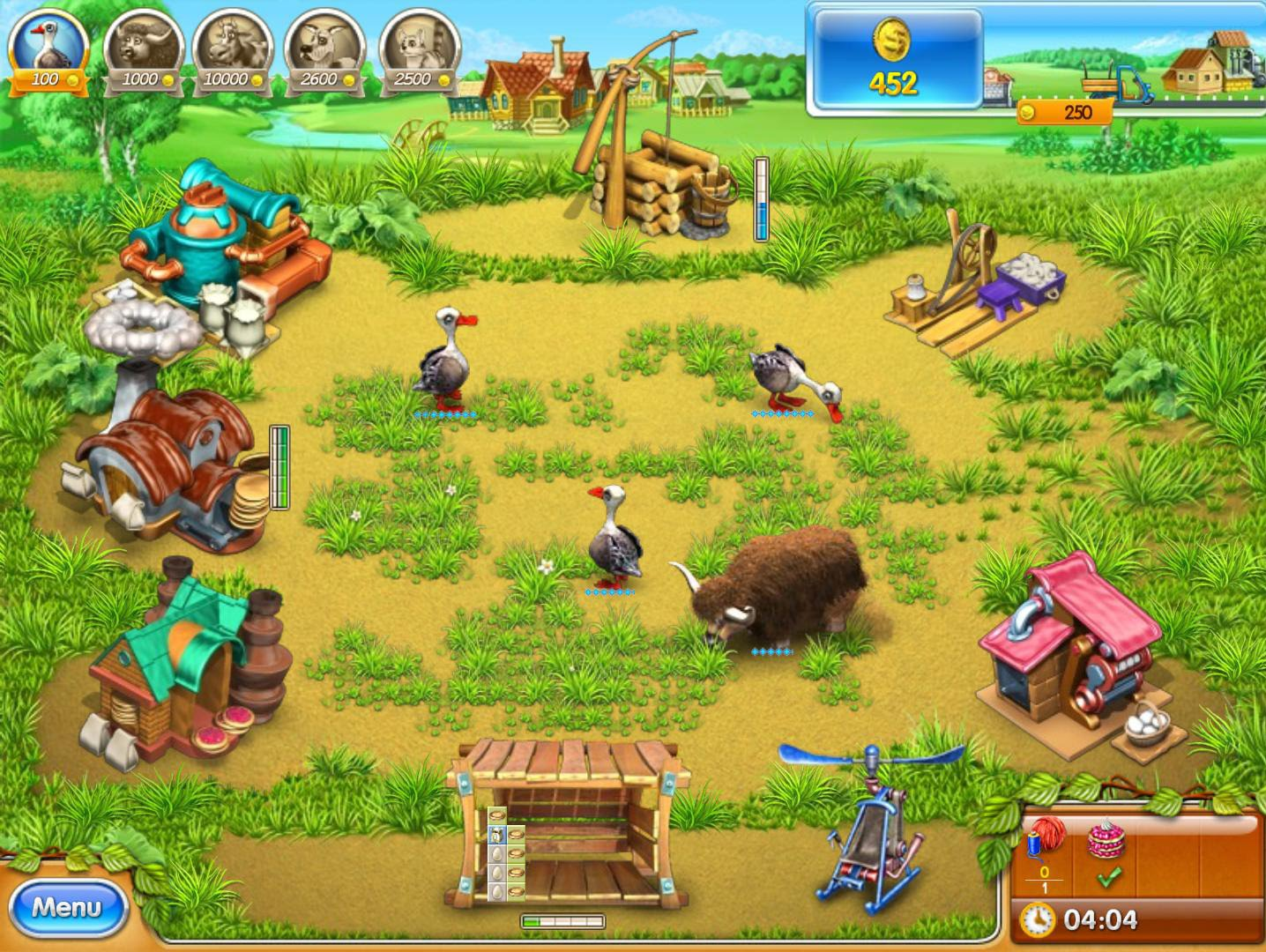 Farm Frenzy 2 - Free online games at