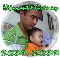&#39;Hijaucantik Giveaway&#39;