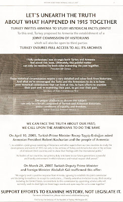 Let's Unearth The Truth About What Happened in 1915 Together at http://armenians-1915.blogspot.com/