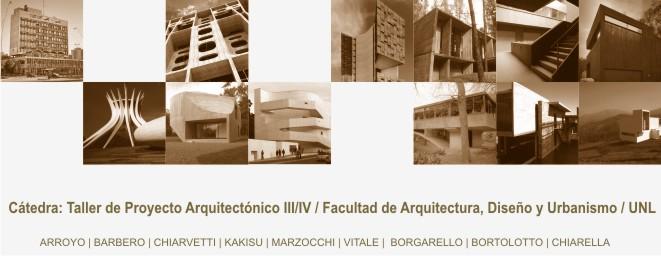 taller de proyecto 3-4 - Cátedra Arroyo