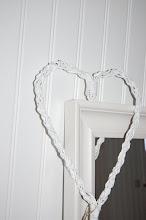 Älskar vita hjärtan!
