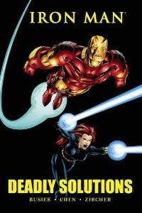 Review Iron Man Deadly Solutions Kurt Busiek Sean Chen Patrick Zircher Black Widow Cover Marvel Premiere Classic Hardcover hc comic book