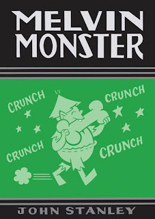 Review Melvin Monster Volume One Crunch John Stanley Library Dell Comics Drawn and Quarterly Cover hardcover hc comic book
