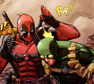 Deadpool HYDRA Pop Marvel comic book