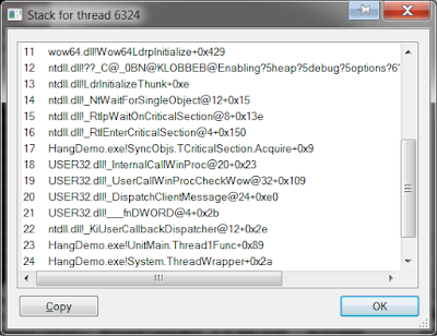 Deadlock 1 в Process Explorer