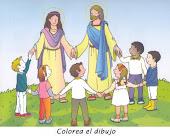 """""""Les aseguro que si no se hacen como niños, no entrarán en el Reino de los cielos"""" Mt 18, 1-4"""
