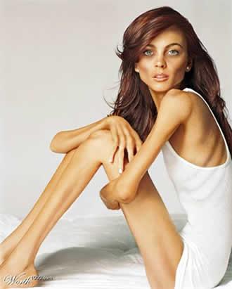lindsay lohan anorexica