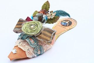 Paso a Paso para hacer Zapatos de papel sin talón ni tacón.