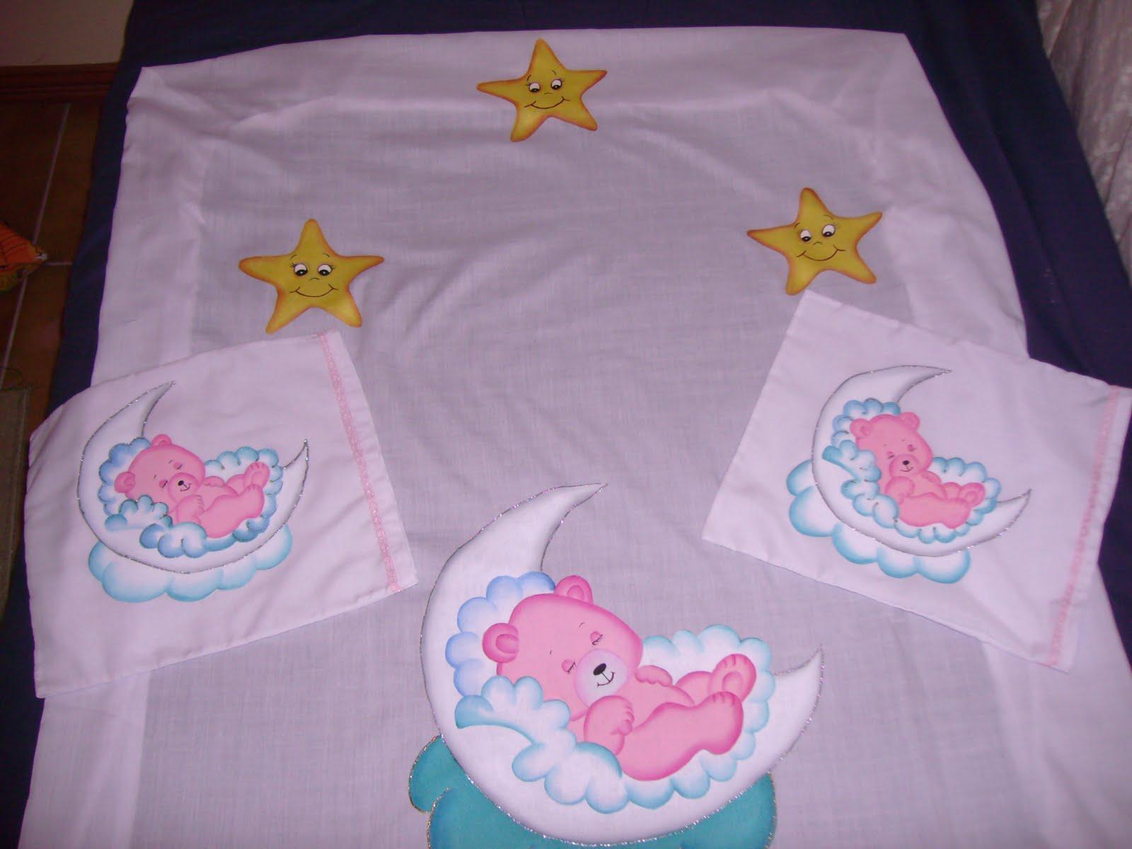 Arte en tela juego de s banas para beb - Sabanas para bebes ...