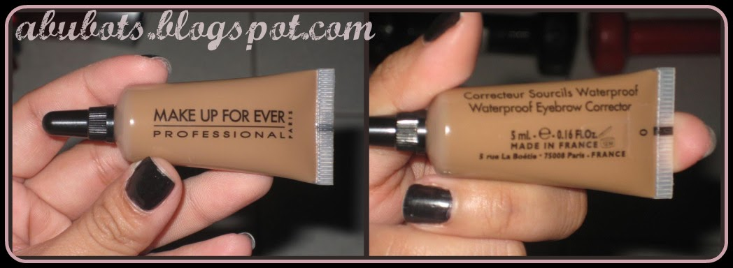 Iambrigitte Product Review Makeup Forever Waterproof Eyebrow