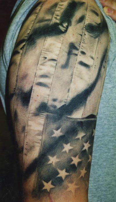american flag tattoos - photo #7