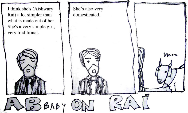 AB baby on Rai: Cartoon by Chitra in Horticulture